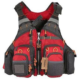 Lixada Mesh Fly Fishing Vest and Backpack Breathable Outdoor