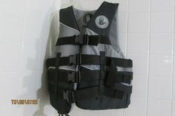 Body Glove Method Adult Life Jacket Size SM Black & Gray