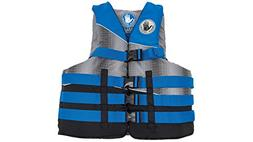 SPORT DIMENSION BODY GLOVE Method Vests, 2X/3X, Blue