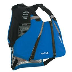 Onyx MoveVent Curve Paddle Sports Life Vest - M/L - Blue - 1