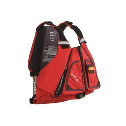 ONYX MoveVent Torision Paddle Sports Life Vest, Red, X-Large