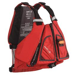 Onyx MoveVent Torsion Paddle Sports Life Vest Red M/L Marine