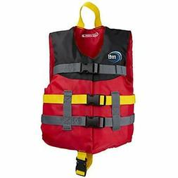 """MTI Child Livery Life Jacket - Red/Black/Red  Sports """" Outdo"""