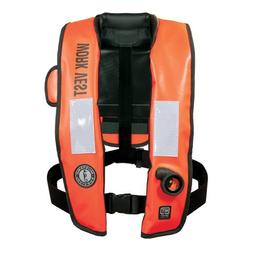 Mustang Inflatable Work Vest With Hit Orange