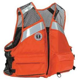 MUSTANG SURVIVAL MV1254 T1 4XL/5XL Life Jacket,Orange,4XL/5X