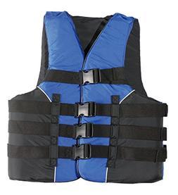 MW Adult 4-Buckle Life Jacket Ski Vest