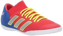 adidas Unisex Nemeziz Messi 18.3 Indoor, Active red/Silver M