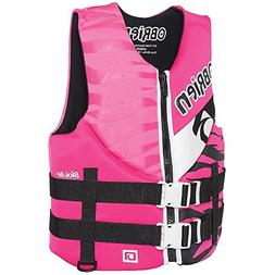 O'Brien Girls Neo Teen Life Vest 2017 Junior/Pink NEW