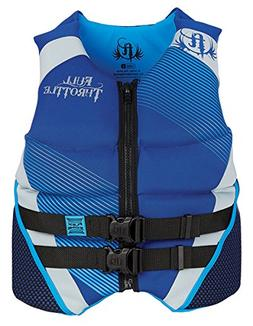 Full Throttle Neoprene Flex-Zone Life Jacket, Large, Blue