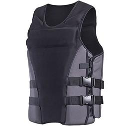 ZZ Lighting Neoprene Life Jacket Vest Waterski Wetsuit For C