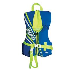 O'Brien Infant Neoprene Life Vest, Blue/Green, 30-Pound