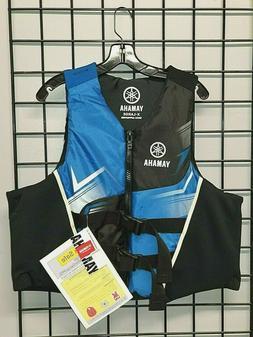 Yamaha Neoprene/Nylon PFD, Life Jacket, RED, BLUE, GREY S,M,