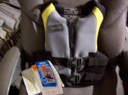 Stearns Neoprene Youth Size Vest Life Jacket 50-90 Lbs NEW W