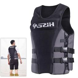 New Adults Life Jacket Safety Premium Neoprene Vest Water Sk