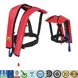New Automatic/Manuel Life Jacket Vest Inflatable PFD Surviva