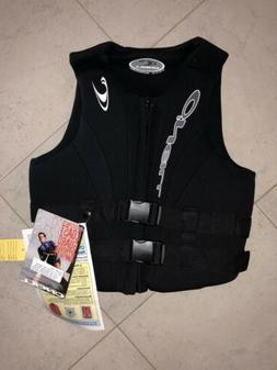 New Black O'Neill Women's Life jacket Size 12 w/tags