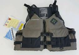 NEW Extrasport Eagle Life Jacket PFD Size Medium/Large Gun/B