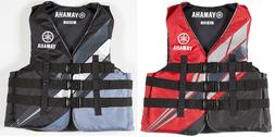NEW! GENUINE YAMAHA 3 BUCKLE NYLON LIFE JACKET VEST