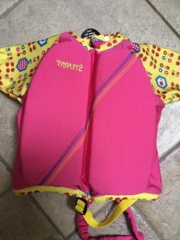 NEW - Stearns Girl's Child #3507 Swim Shirt /Life Jacket Pre