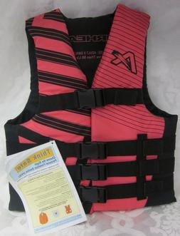 NEW AIRHEAD LIFE JACKET ADULT WOMENS X SMALL MORE THAN 90 LB