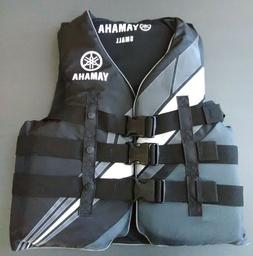 New Yamaha Life Jacket Ski Vest PWC Wake Board Boarding 3 Sn
