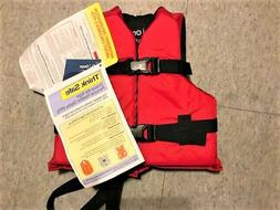 New Onyx Nylon General Purpose Life Jacket - Child 30-50lbs