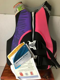 New Pink Purple Stearns Hydroprene Life Jacket Youth 50-90 P