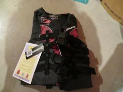 New Red & Black O'Neill Life Jacket, Size S
