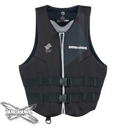 NEW Sea-Doo Men's Airflow Life Jacket #285870__90