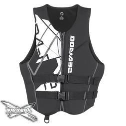 NEW Sea-Doo Men's Freedom Life Jacket Black #285864__90