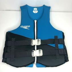 NEW Speedo Unisex Neoprene Swim Vests Life Jacket - Gray