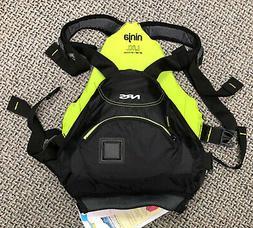 NRS Ninja PFD - Large/XL Black/yellow - new life jacket