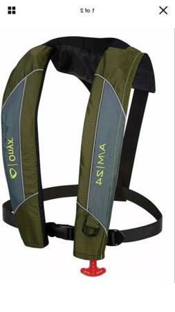 NWT ONYX A/M-24 Auto Manual Inflatable PFD - Green Life Jack