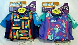 NWT Coleman Kids Puddle Jumper 2 in 1 Life Jacket & Rash Gua