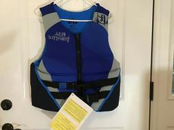 NWT FULL THROTTLE QUICK DRY FLEX ZONE LIFE JACKET. MEN'S L.