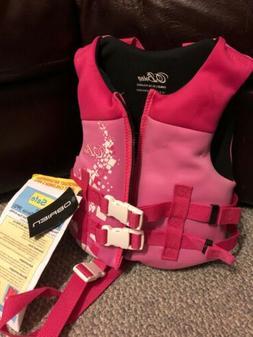 NWT USCG O'Brien Neoprene Life Jacket for child 30-50 poun