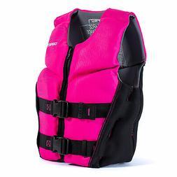 O'Brien Flex V-Back Youth USCG Approved Safety Vest Life Jac
