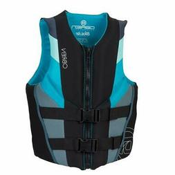O'Brien Focus Neoprene Life Jacket Womens LG   Aqua