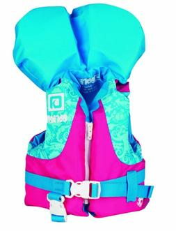 O'Brien Infant Nylon Water sports Life Jacket with collar up