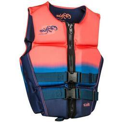 O'Brien Ladies Flex V-Back Lightweight Safety Life Jacket, S