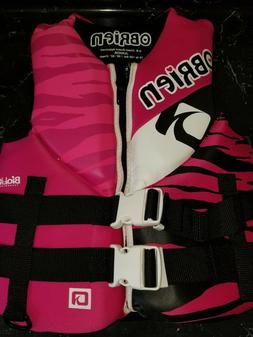 """O'Brien life vest 75 to 125 lbs. 28"""" - 32"""" Chest youth lar"""
