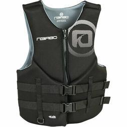O'Brien Traditional Neoprene Vest for Men, Black