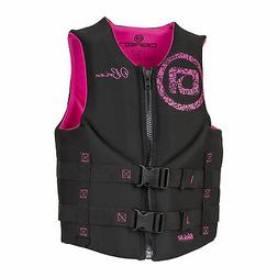 O'Brien Traditional Life Vest - Women's - 2019 - Black/Pink