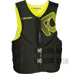 O'Brien Traditional Neo Life Men's Vest Size-Yellow