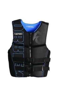 O'Brien Watersports Men's Flex V-Back Life Jacket, Blue, Siz