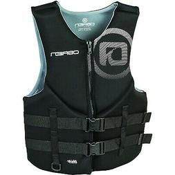 O'Brien Watersports Traditional Men Safety Life Jacket, Blac
