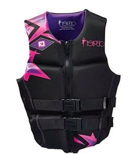 O'Brien Women's Flex V-Back BioLite Wakeboard Life Jacket Ve