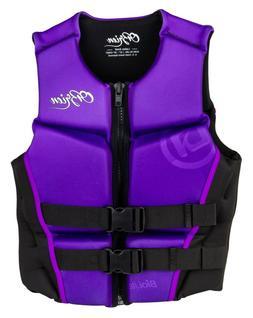"O'brien Women's Flex V-Back Life Jacket- *NEW * ""WOMENS LARG"