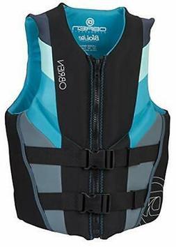O'Brien Women's Focus Neoprene Life Jacket Aqua X-Large