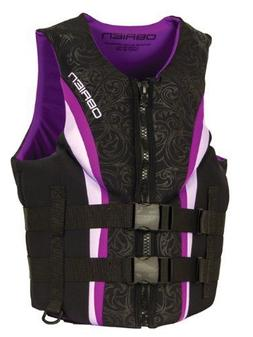 O'Brien Women's Impulse Neo Purple Life Jacket LG